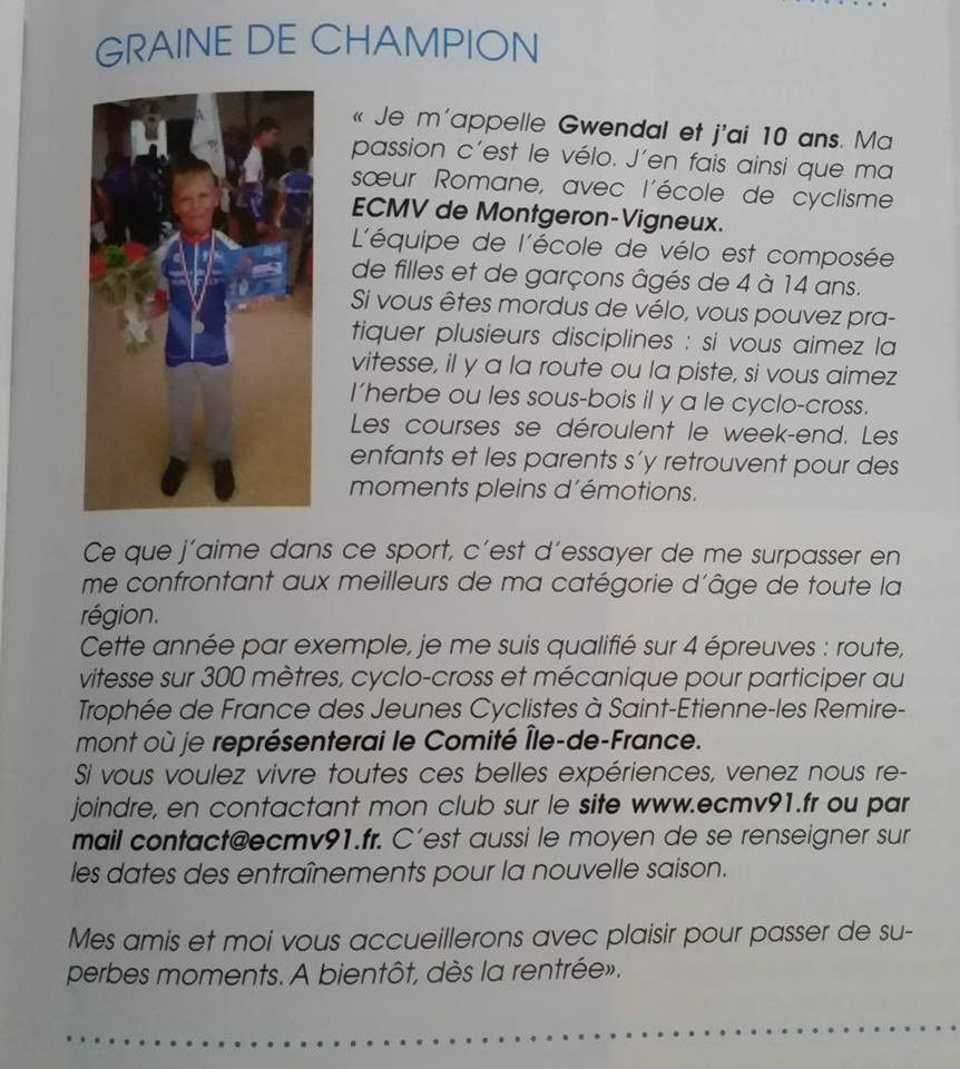 Magazine de la ville de Crosne - Sept./Oct. 2015