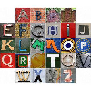 Alphabet en proveance du dit challenge