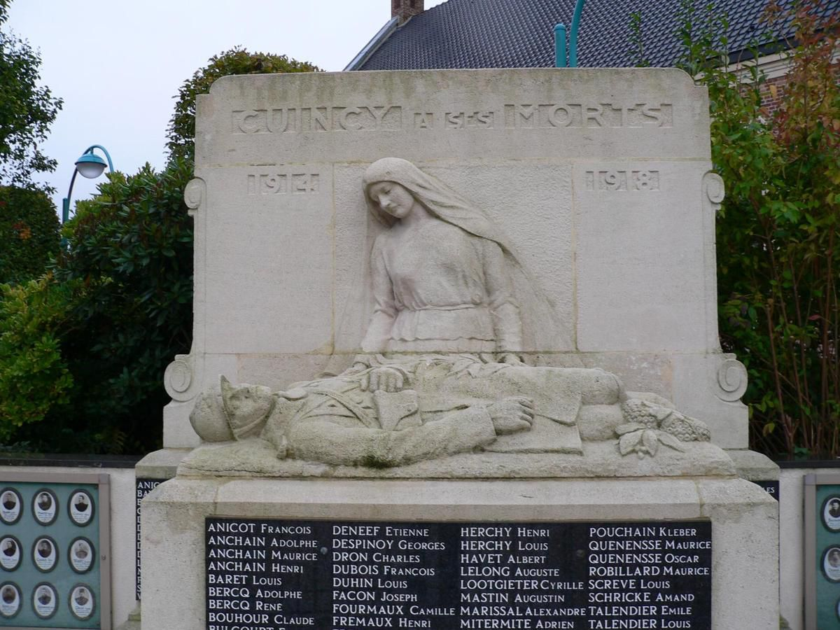 Monument aux Morts de Cuincy (Source Lille 3)