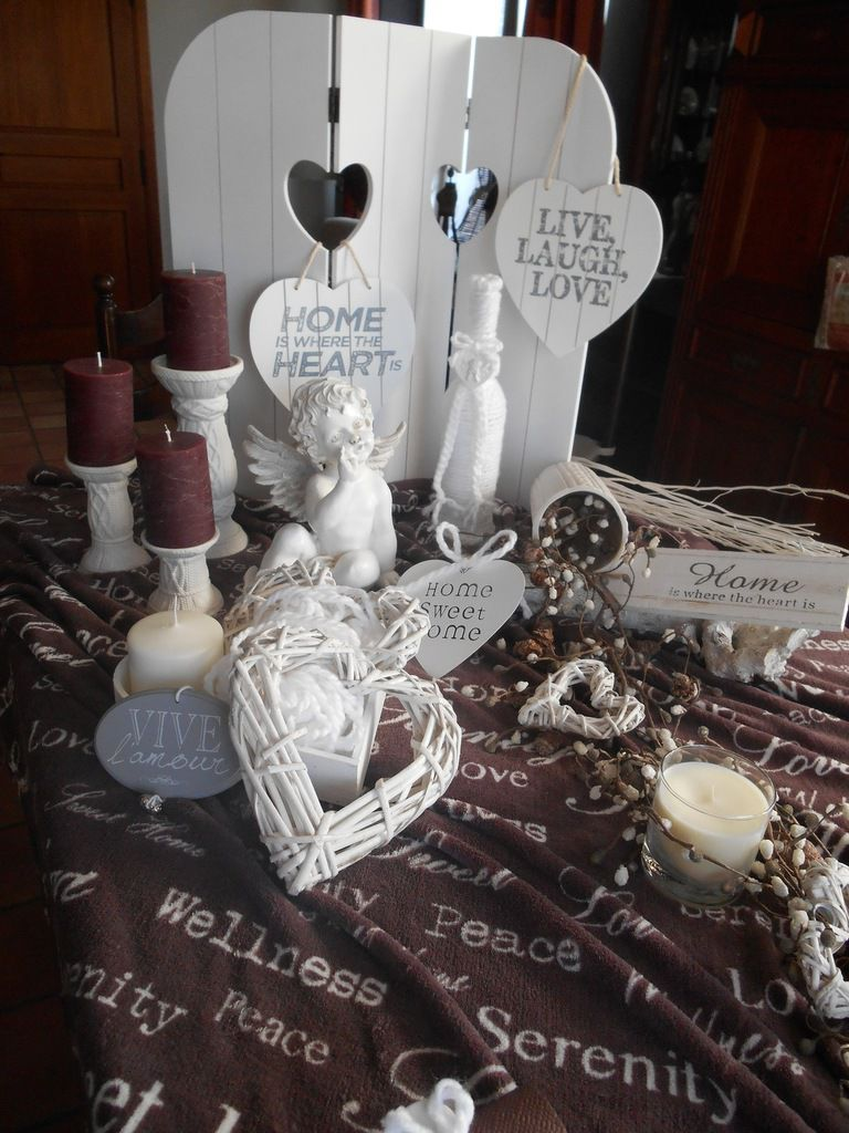 Table Saint-Valentin cocooning