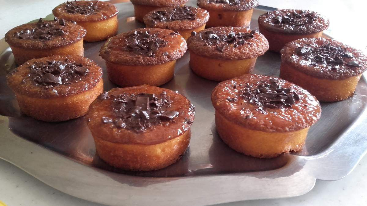 MUFFINS A L'ORANGE FACON JACQUELINE
