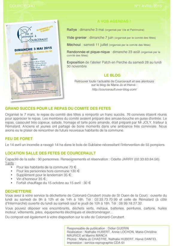 COURC'echo n°1