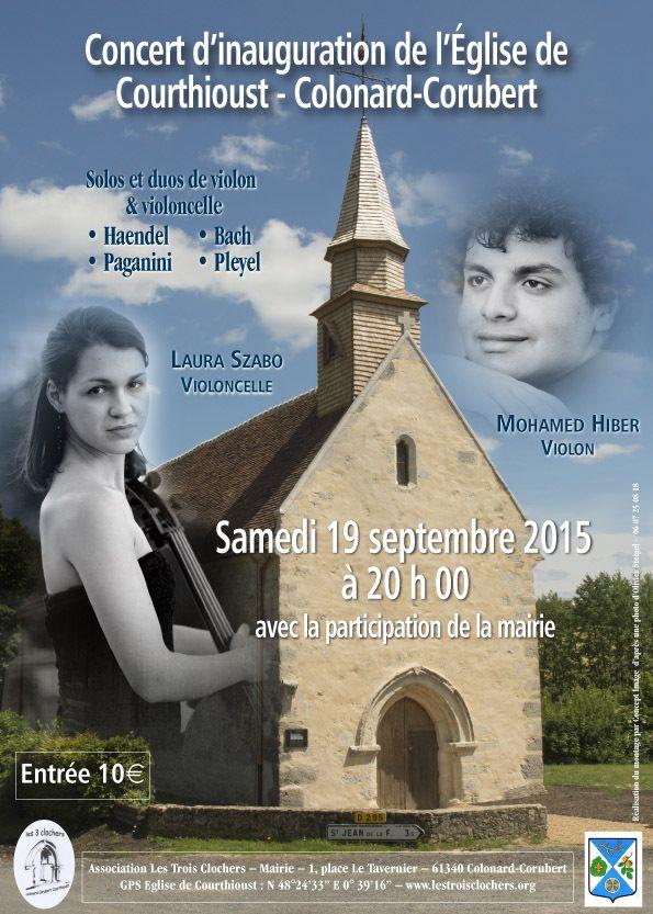 Concert en l'église de Courthiou