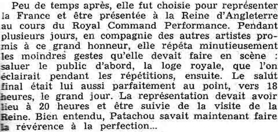 Bonnes Soirées, 1 mars 1959