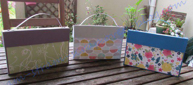 boîte pour cartes