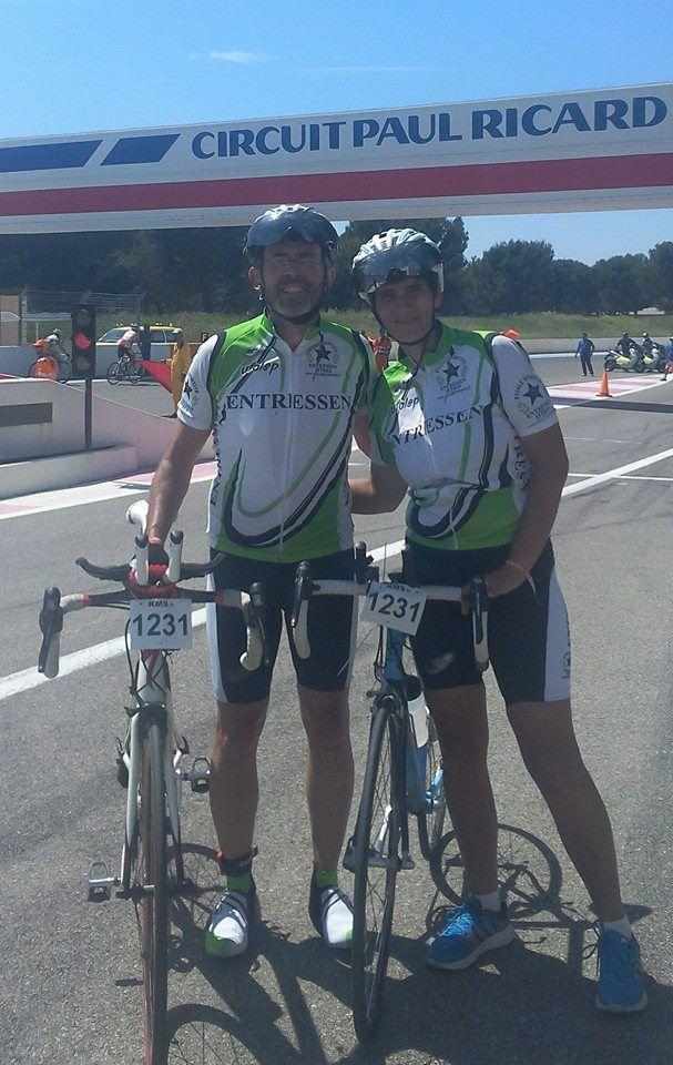 Les 6 heures d'endurance vélo du Castelet