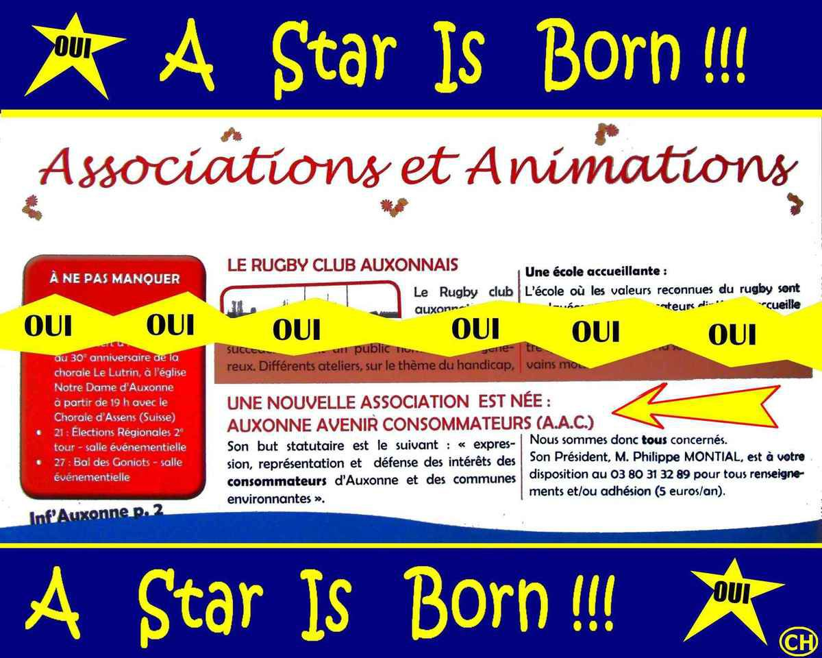 A Star Is Born !!!