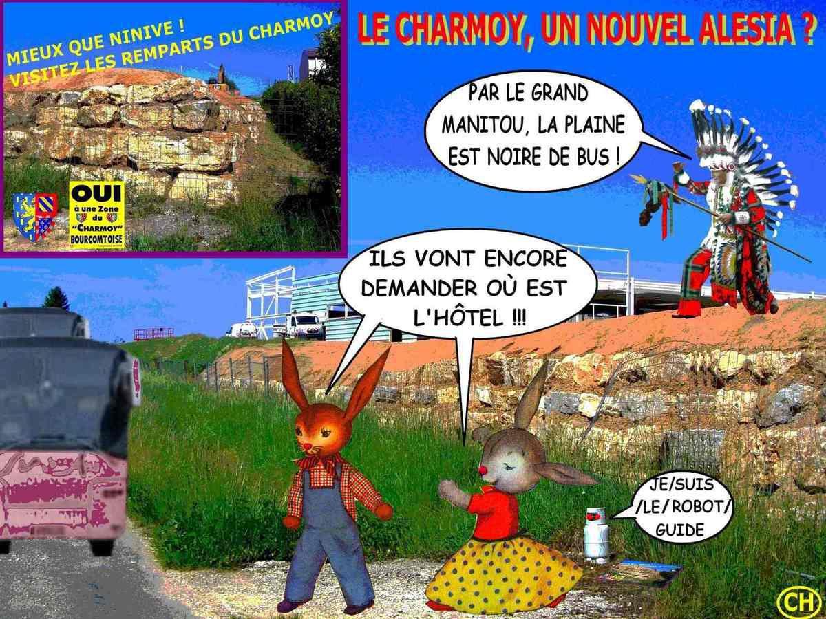 Le Charmoy, un nouvel Alesia