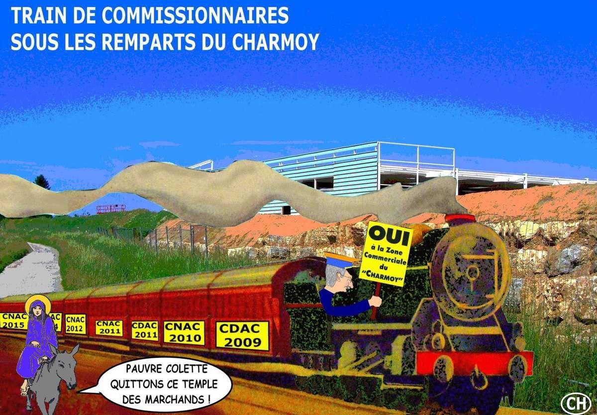 Train de commissionnaires