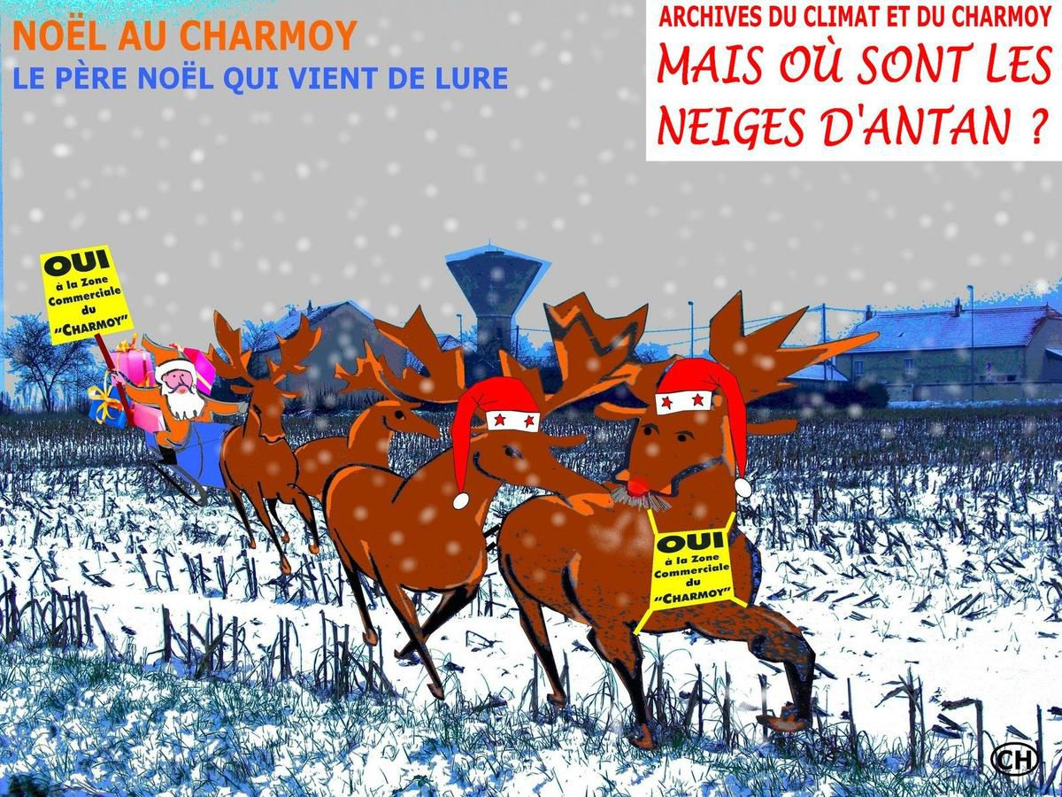 Rennes et Noël au Charmoy