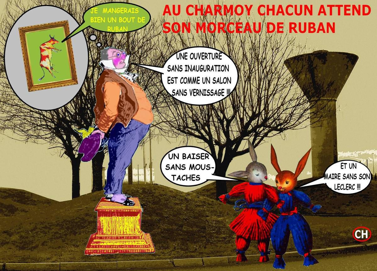 Au Charmoy chacun attend son morceau de ruban