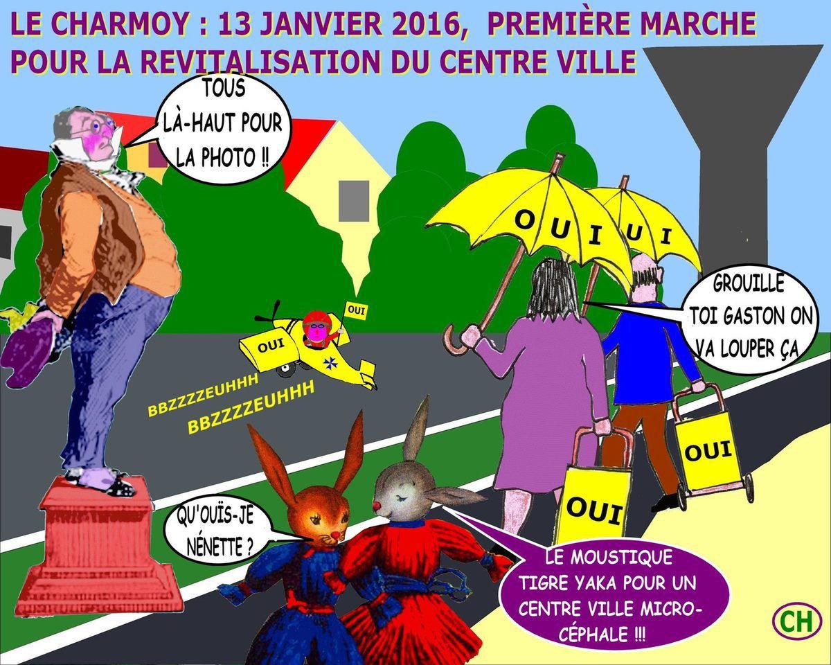 Marche du nouvellisme pour la revitalisation du centre bourg