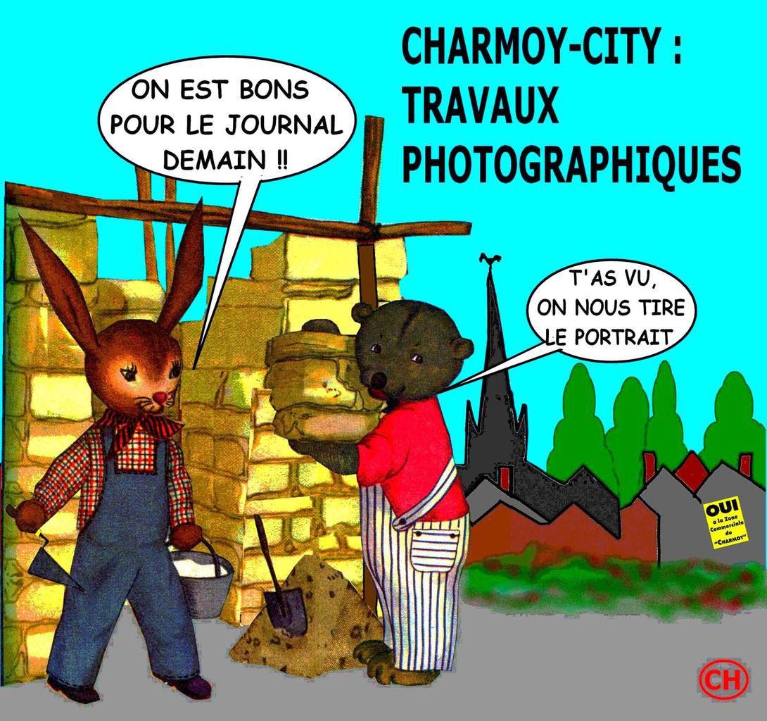Nouvellisme photographique à Charmoy-City