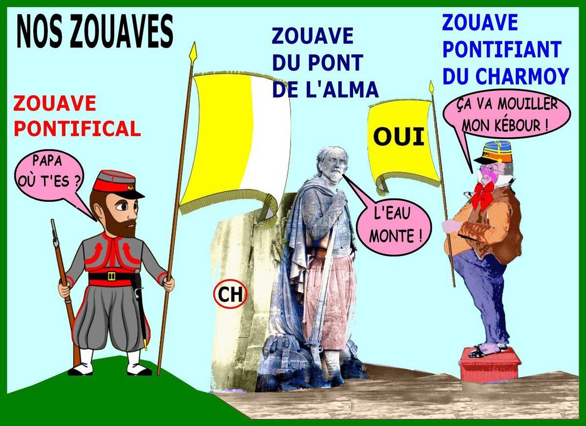 Le pape-zouave du nouvellisme au Charmoy