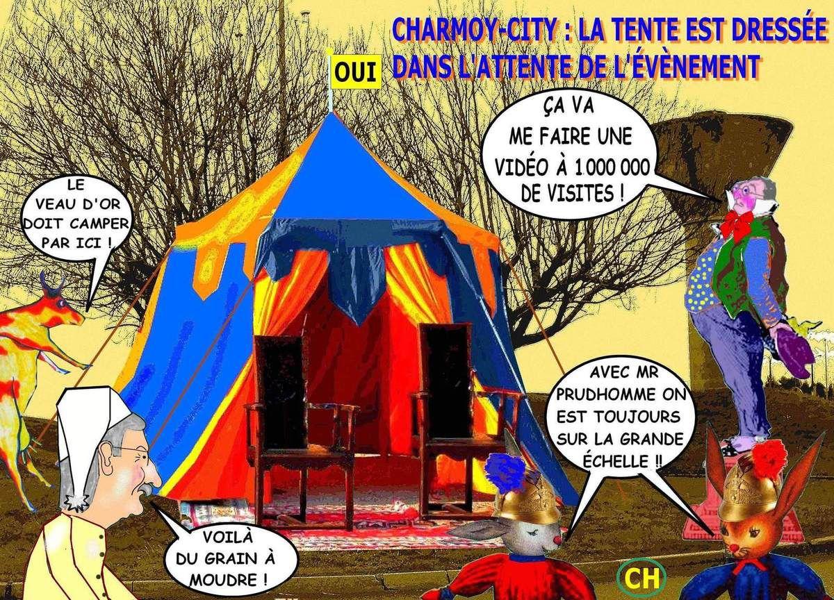 Nouvellisme inaugural au Charmoy