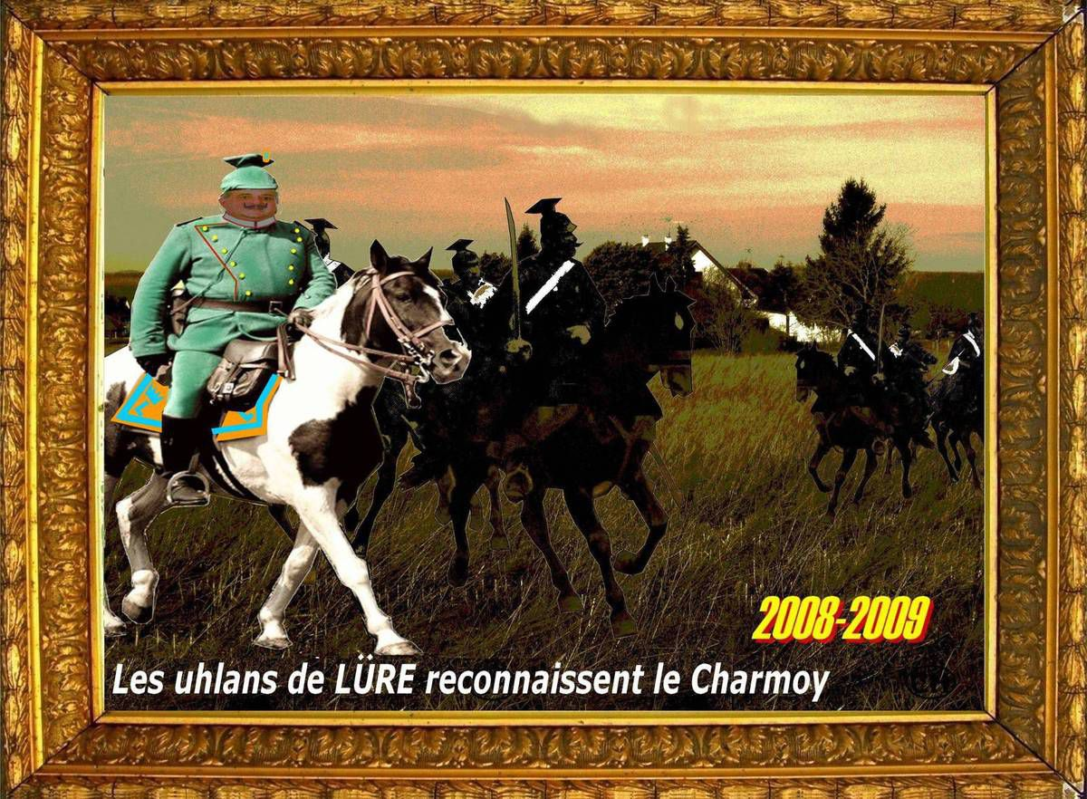 Les uhlans discrets du Charmoy nouvelliste