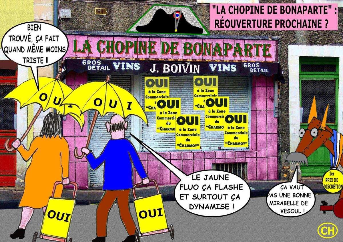 Réouverture prochaine de la chopine de Bonaparte