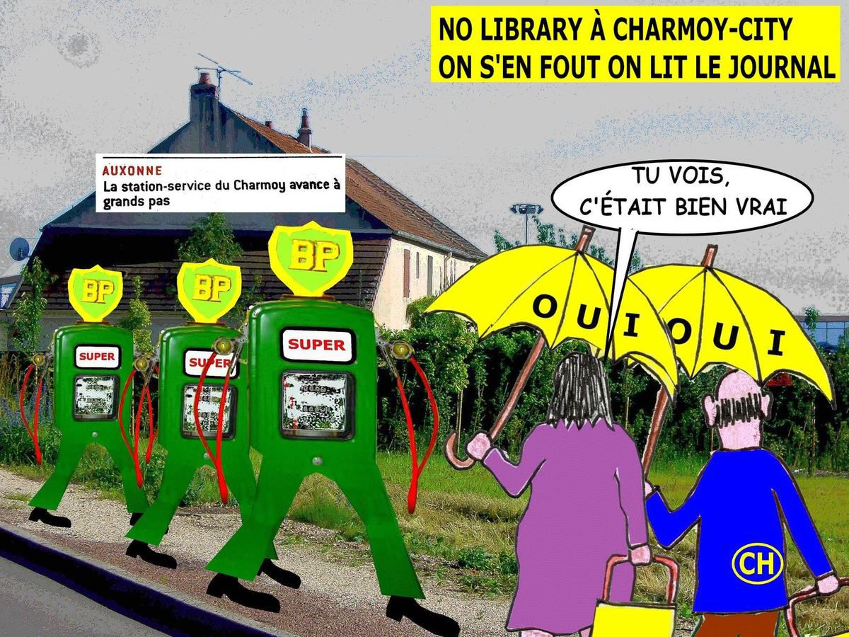 No library à Charmoy-City