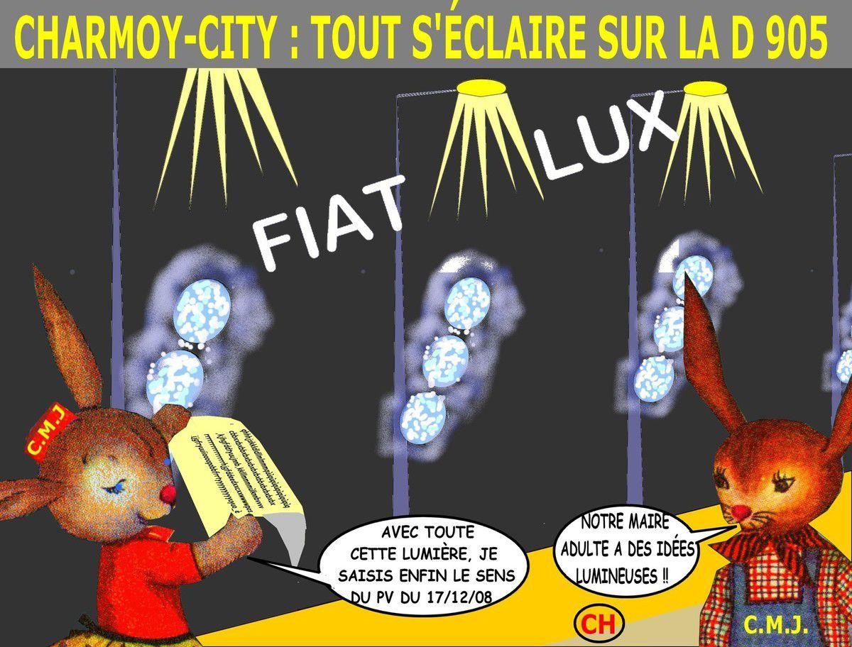 Fiat lux à Charmoy-City