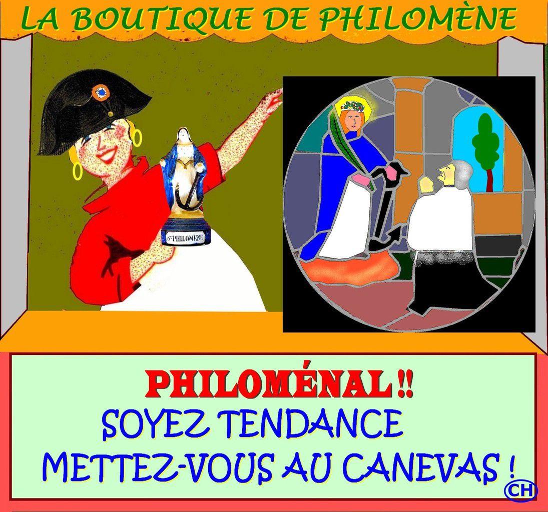 Le canevas tendance de Philomène