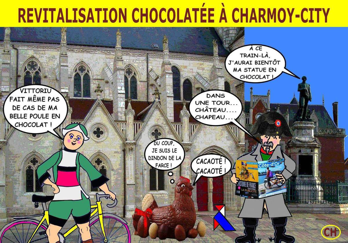 Revitalisation chocolatée à Charmoy-City