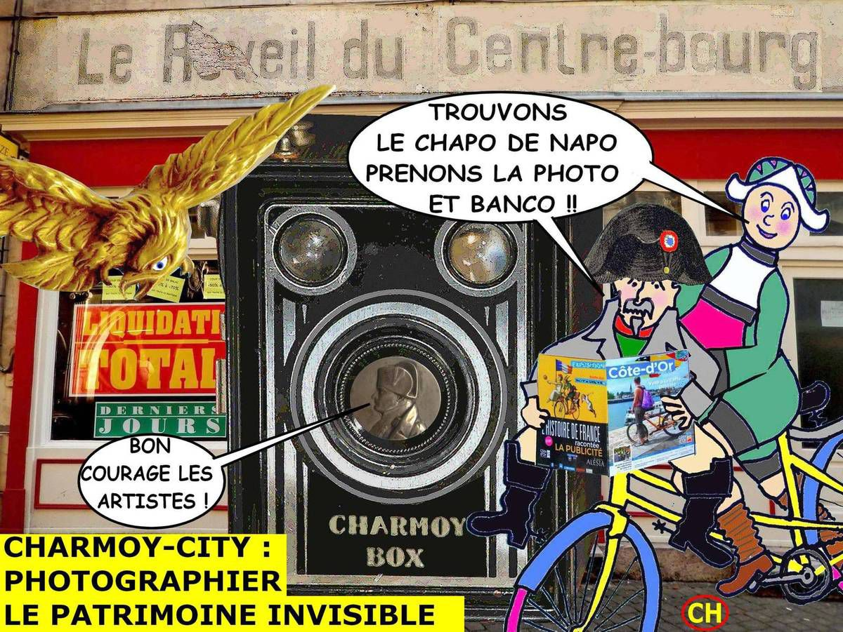 Charmoy-City, photographier le patrimoine invisible