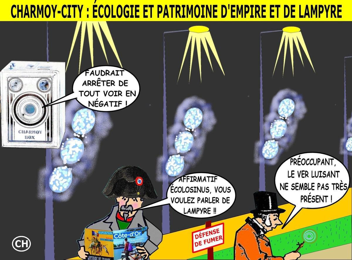 Charmoy-City, l'Empire et le lampyre