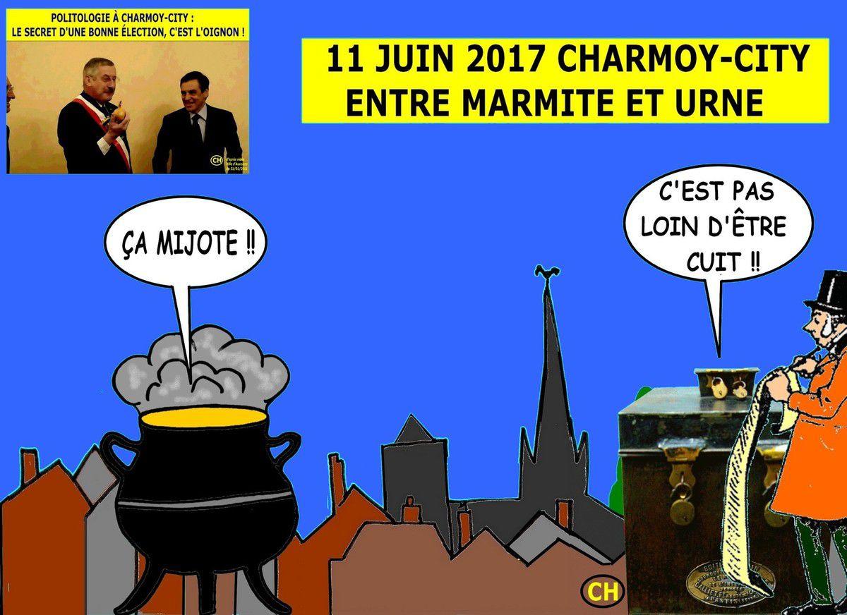 Entre marmite et urne, Charmoy-City