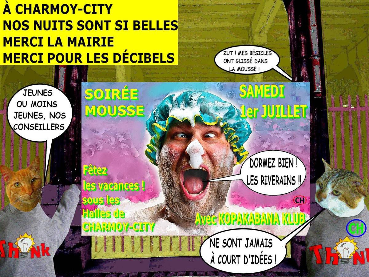 A Charmoy-City, nos nuits sont si belles