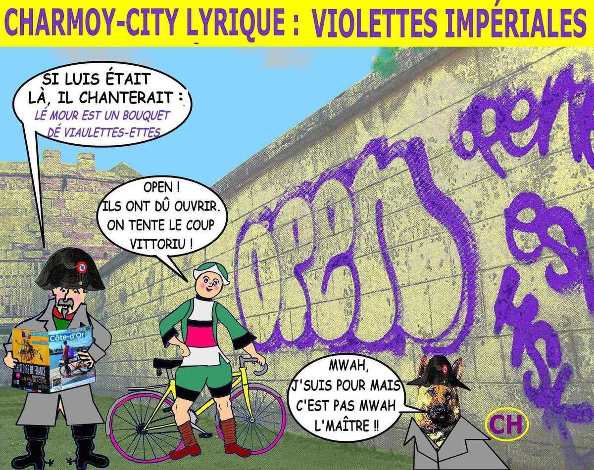 Charmoy-City violettes impériales c'est l'ouverture