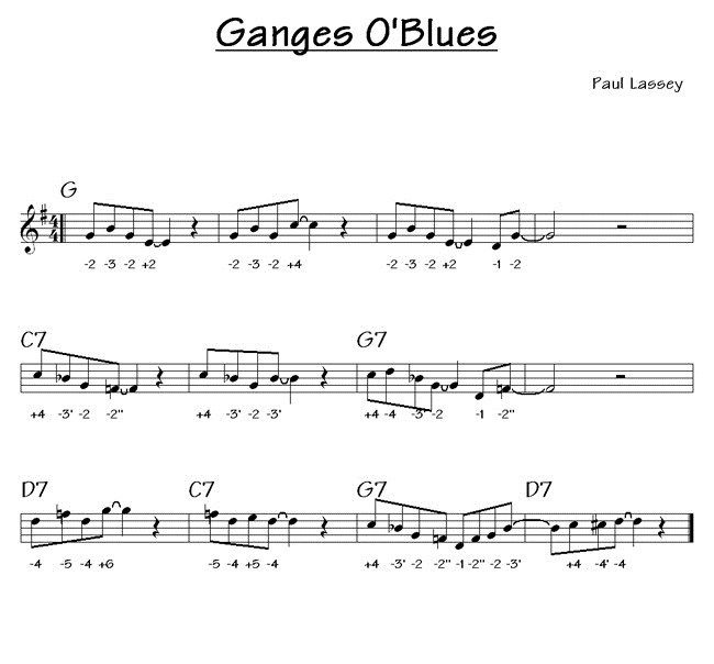 Ganges O'Blues - Harmonica C