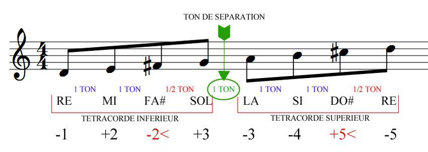 Construction des gammes majeures - Harmonica chromatique