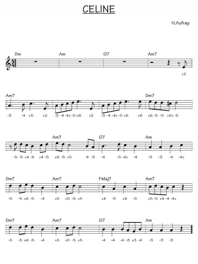 Hugues Aufrey - Céline - Harmonica chromatique