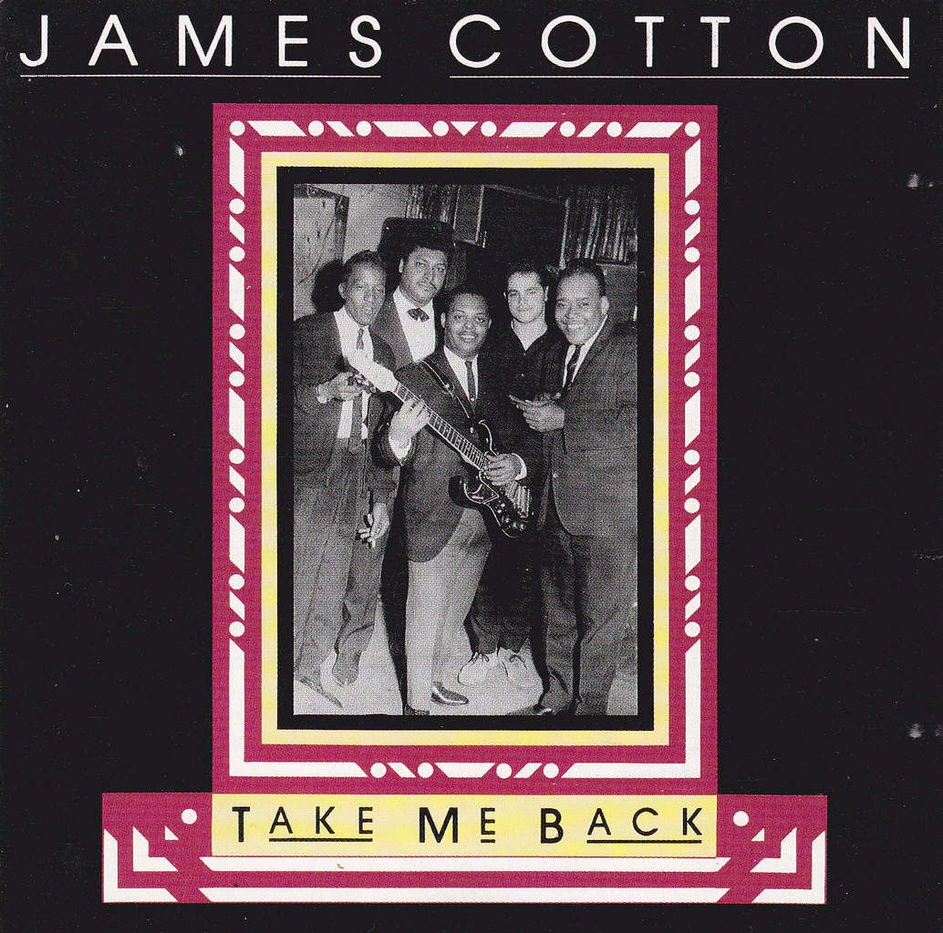 James Cotton - Take me back - Tonalités d'harmonicas - Harmonica keys