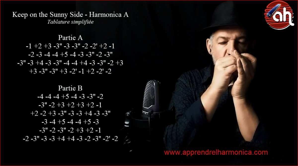 Keep on the Sunny Side - Harmonica A