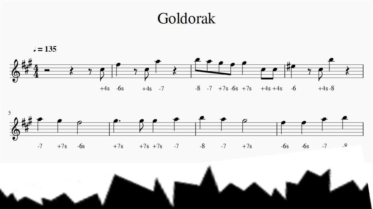 Goldorak - Actarus - Harmonica chromatique