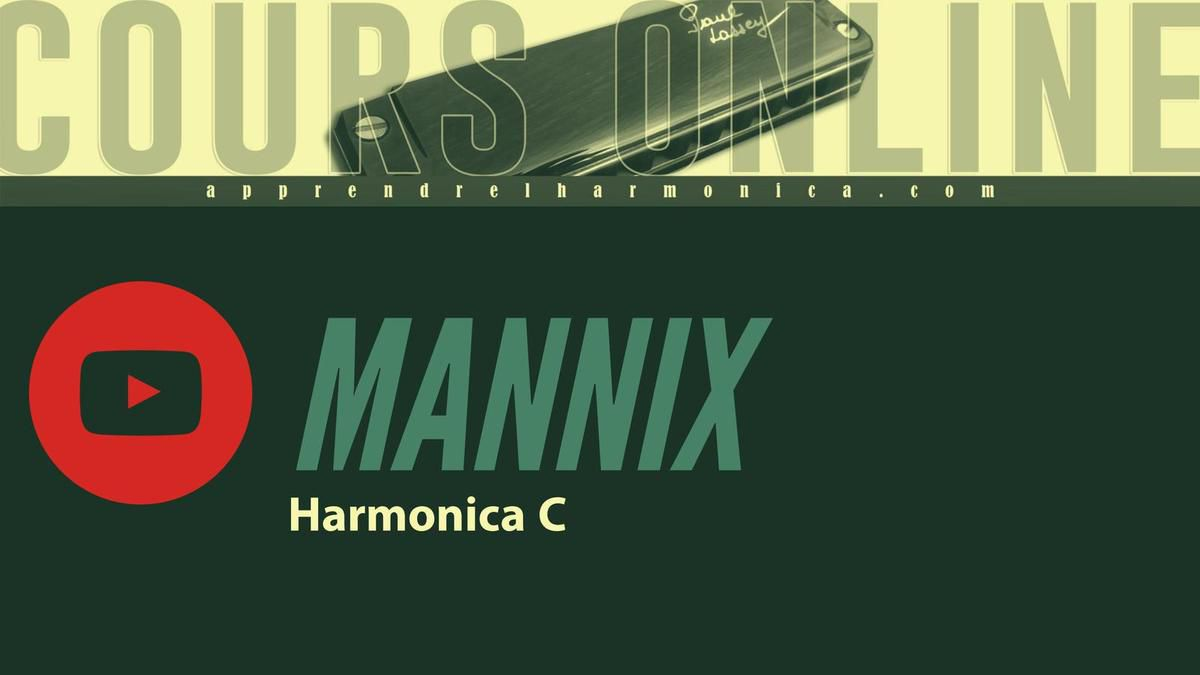 R I P Mike Connors - Mannix Soundtrack - Harmonica C