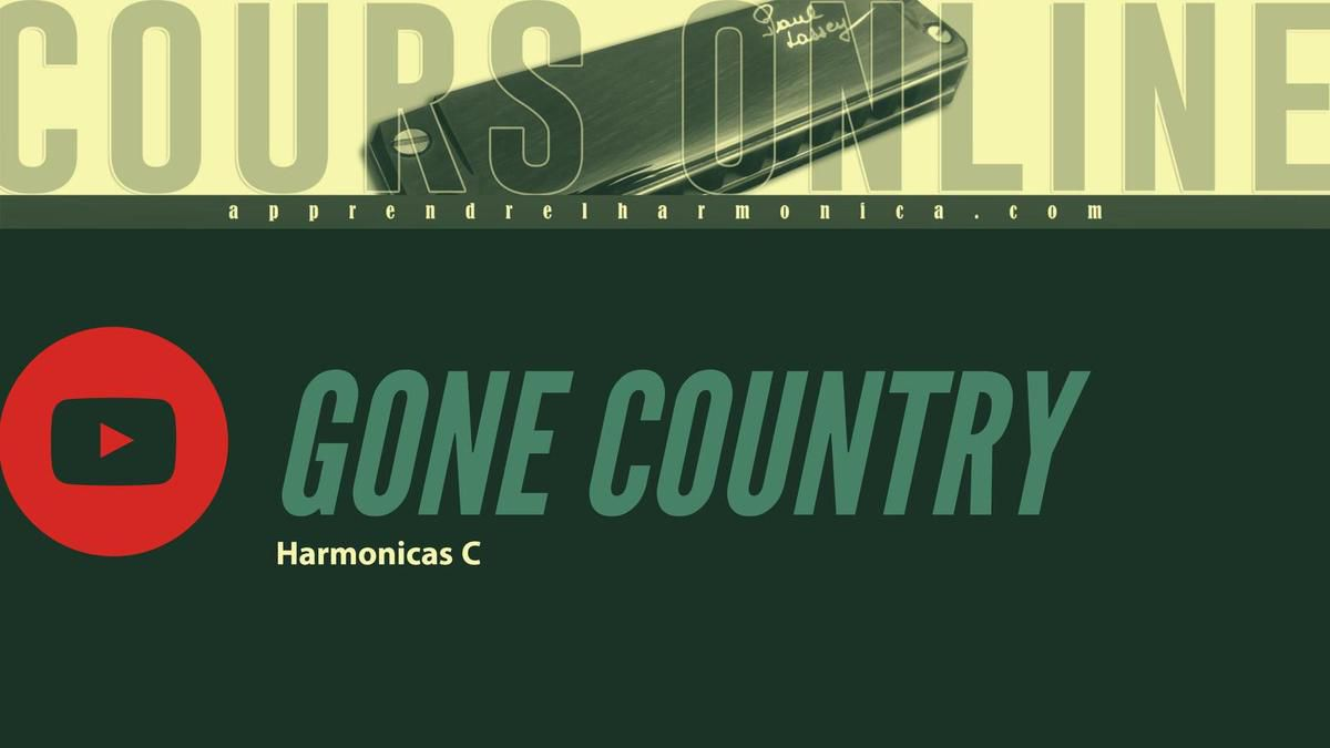 Alan Jackson - Gone Country - Harmonica C