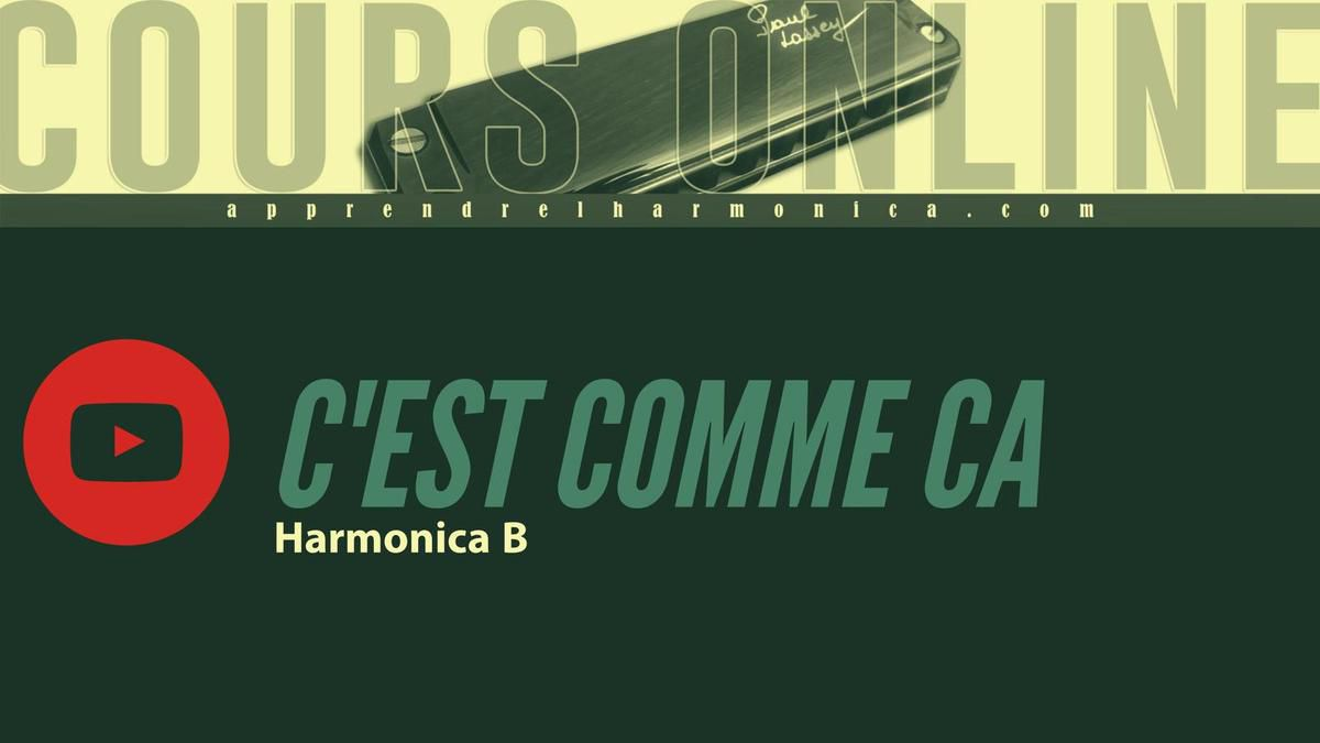 Rita Mitsouko - C'est comme ça - Harmonica B