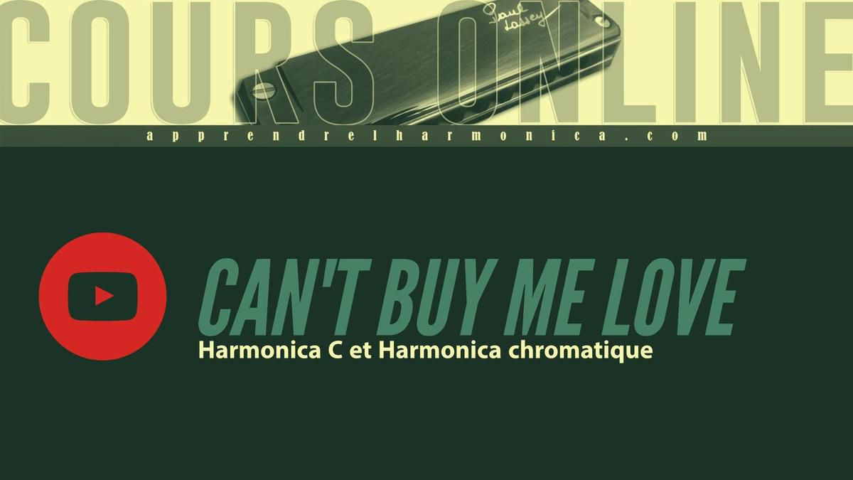 beatles can 39 t buy me love harmonica c et harmonica chromatique le blog du site. Black Bedroom Furniture Sets. Home Design Ideas