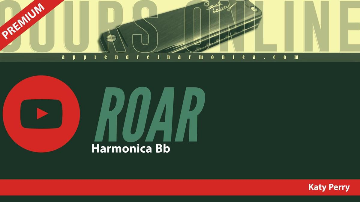 Katy Perry - Roar - Harmonica Bb