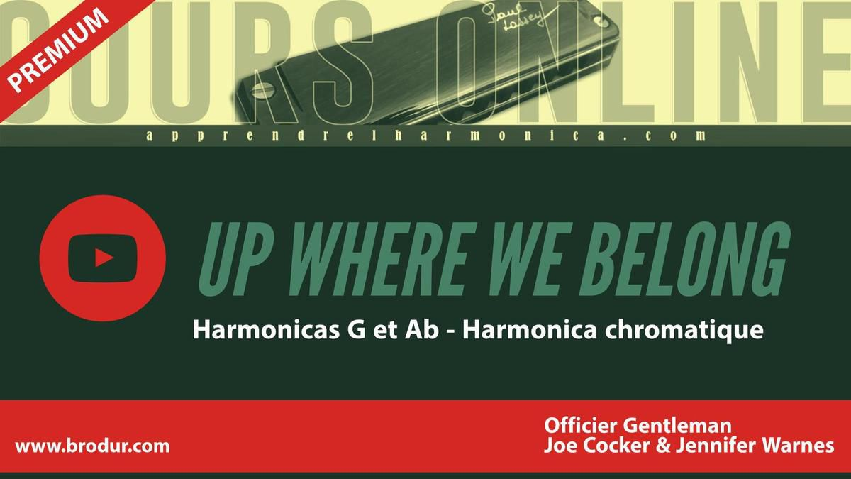 Up Where We Belong - An Officer &amp&#x3B; a Gentleman - Harmonicas G et A - Hamonica chromatique