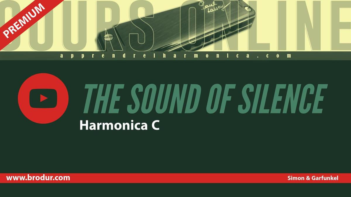 Simon and Garfunkel - The sound of silence - Harmonica C