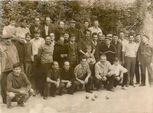 Au Boulodrome en 1969