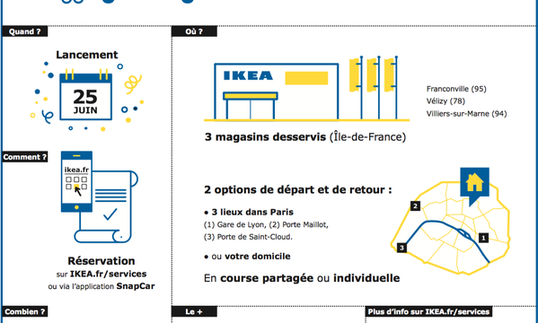 buzz ikea a son service de chauffeur priv newpubmarketing. Black Bedroom Furniture Sets. Home Design Ideas