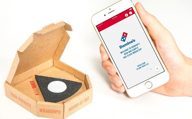 "Innovation produit : Domino's innove et crée ""The Easy Order"""