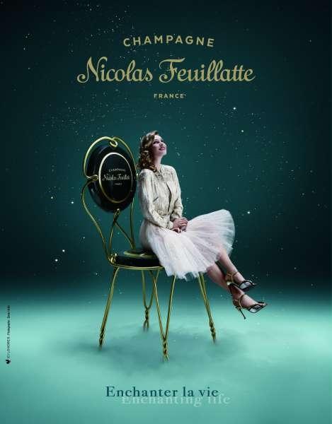 Pub de la semaine : Le champagne Nicolas Feuillatte enchante la vie