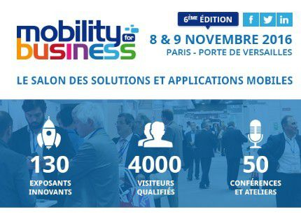 Mobile : Mobility for Business à Paris en novembre 2016