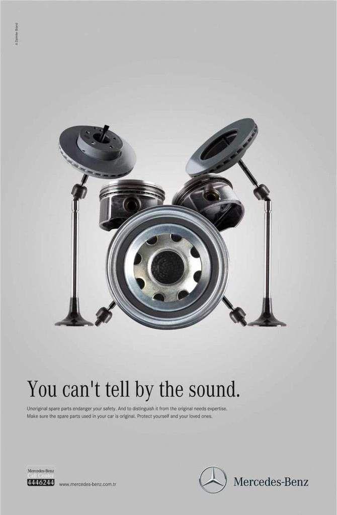 Pub de la semaine : Mercedes sécurise sans le bruit
