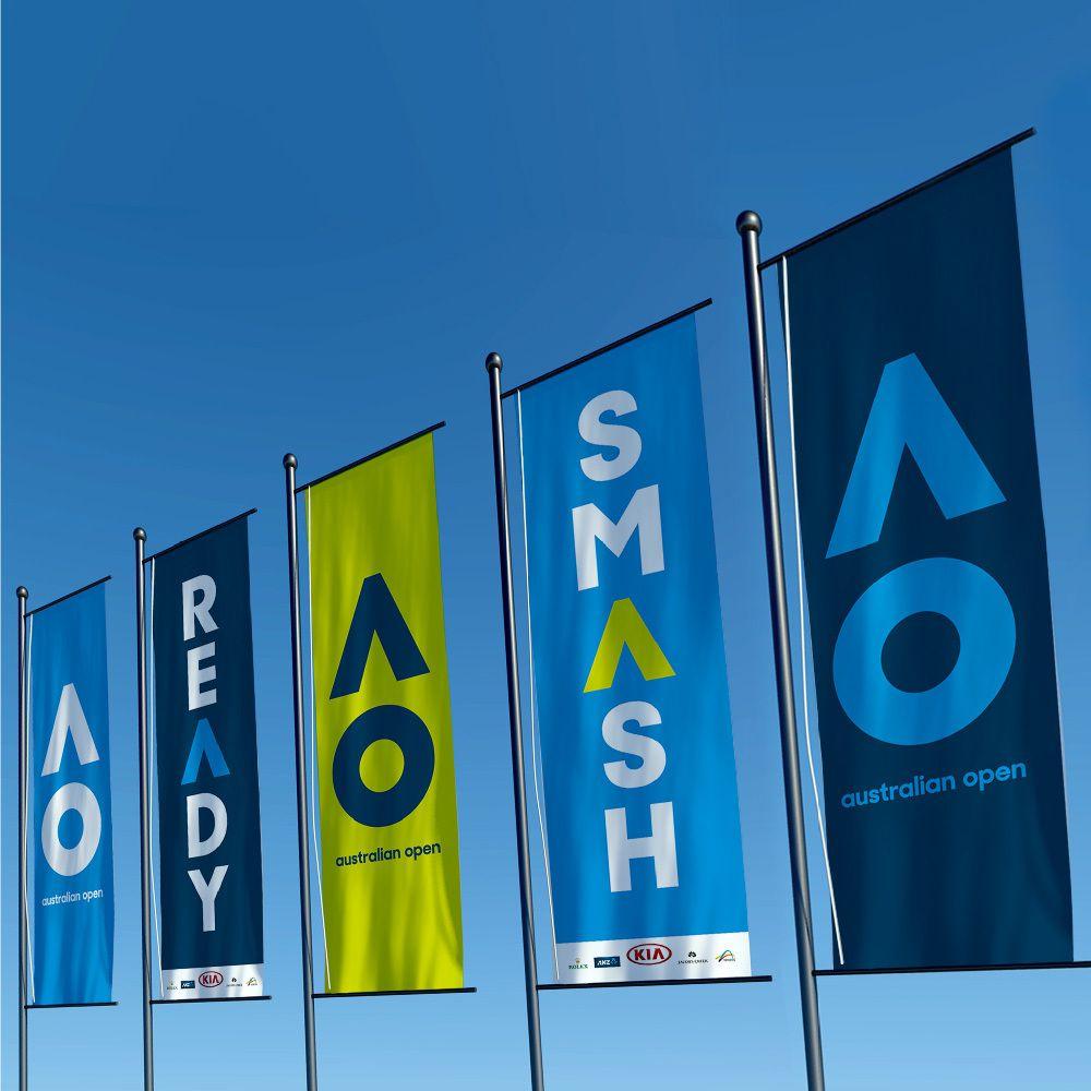 Branding : L'Open d'Australie de tennis change de look